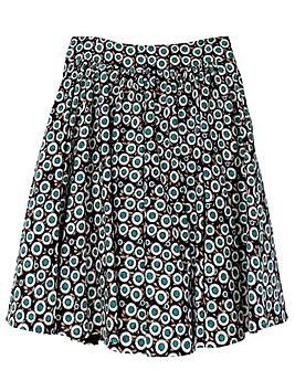 emily Ashley High Waist Swing Skirt
