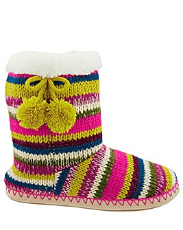 Accessorize Fairweather Stripe  Boot