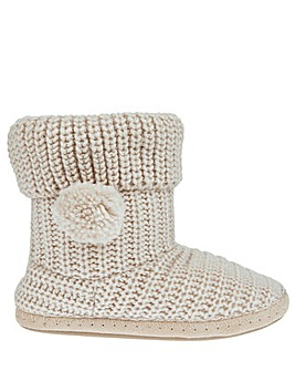 Accessorize Chunky Knitted Boot