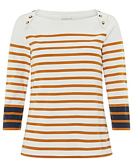 Monsoon Joey Breton Stripe Top