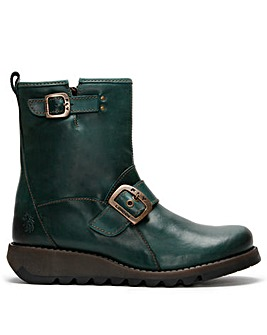 Fly London Sino Leather Ankle Boots