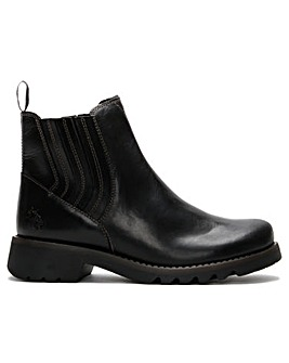 Fly London Ralt Chunky Chelsea Boots