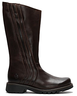 Fly London Reko Leather Calf Boots