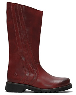 Fly London Reko Leather Calf Boots