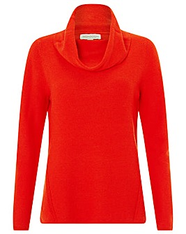 Monsoon Camille Cowl Neck Jumper