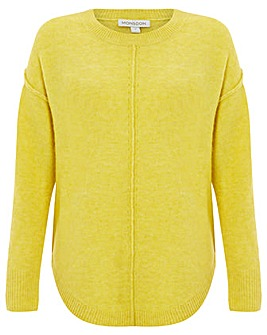 Monsoon Chelsea Curved Neck Jumper