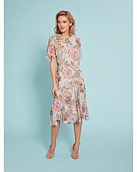 Gina Bacconi Estera Floral Dress