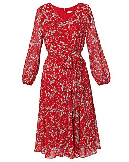 Gina Bacconi Ridley Floral Dress