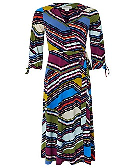 Monsoon Rhea Print Midi Dress