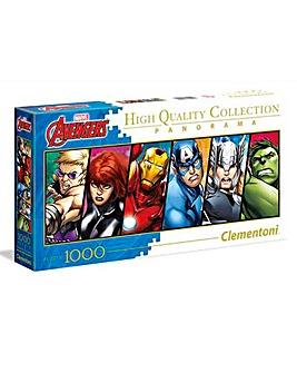 Marvel Avengers Panorama 1000pc Puzzle