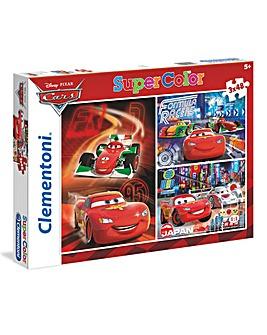 Disney Cars 3 x 48 Puzzles