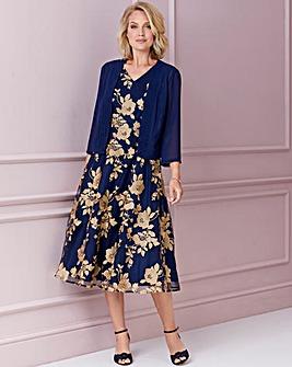 Nightingales Embroidered Dress & Bolero