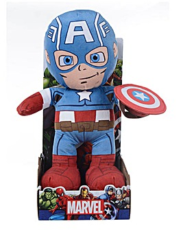 Marvel 10in Plush - Captain America