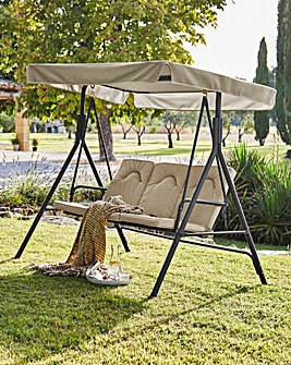 Verona Cushioned 3 Seater Swing