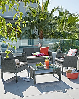 Almeria Rattan Lounge Set