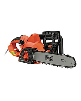 Black + Decker 45cm Corded Chainsaw
