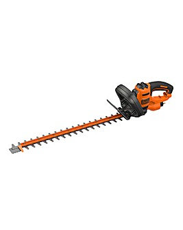 Black + Decker 60cm Corded Hedgetrimmer