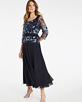 Nightingales Embellished Swing Dress