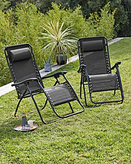 Pair of Zero Gravity Chairs