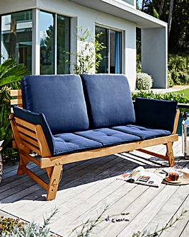 Salerno Wooden Multifunction Sofa
