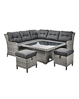 Portofino Corner Set Adjustable Table