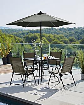 Malaga 4 Seater Dining Set