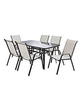 Santiago 6 Seater Dining Set