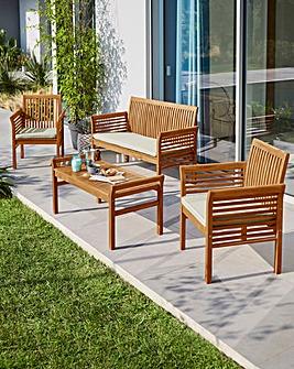 Monterrey Acacia Lounge Set