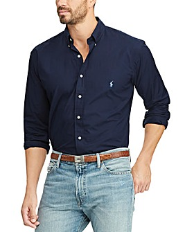 Polo Ralph Lauren Navy Poplin Shirt