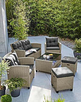 Amalfi Rattan Lounge Set