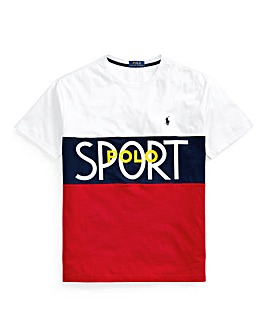 Polo Ralph Lauren White Polo Sport T-Shirt