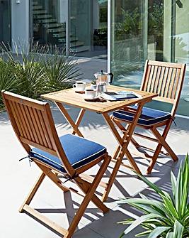Georgia FSC Eucalyptus Wooden Bistro Set