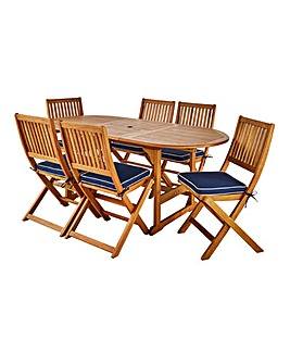 Georgia Extending Table with 6 Chairs