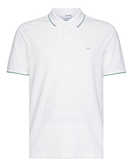 Calvin Klein Stretch Tipping Slim Polo