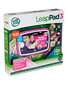 LeapPad3 Learning Tablet Pink