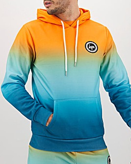 Hype Orange Summer Fade Hoody