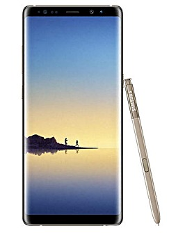 Samsung Note 8 64GB  Refurbished -Gold