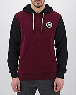 Hype Colour Block Overhead Hoody