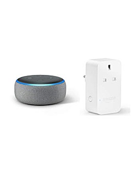 2018 Amazon Dot and Smart Plug Bundle