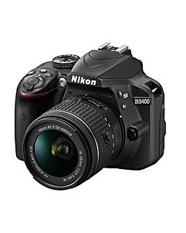 Nikon D3500 + AF-P 18-55VR Camera Kit