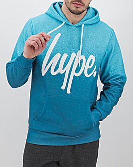 Hype Blue Speckle Fade Hoody