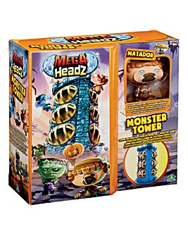 Mega Headz Monsters Tower Playset