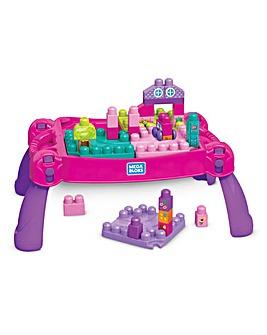 Mega Bloks Table - Pink
