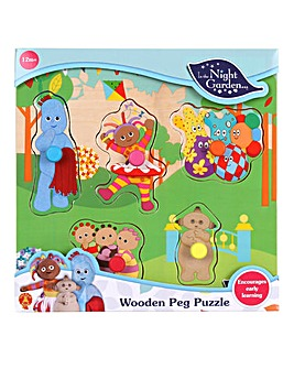 In the Night Garden Wooden Peg Puzzle