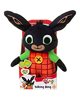 Huggable Talking Bing Soft Toy