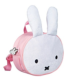 Miffy Plush Front Backpack - Pink