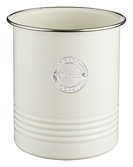 Typhoon Living Cream Utensil Jar