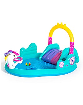 Bestway Magical Unicorn Carriage Play Center