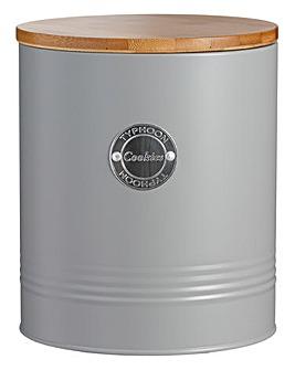 Typhoon Living Grey Biscuit Jar