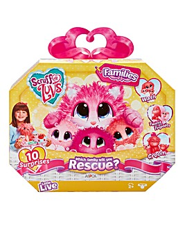 Scruff-a-Luvs Rescue Pet Surprise Soft Toy - Families
